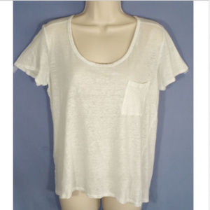 CLUB MONACO Top Tee T-shirt Relaxed Sparkly 1466E2